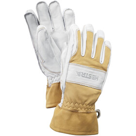 Hestra Fält Guide Gants, natural yellow/offwhite